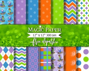 50% OFF SALE Home Digital Paper Clipart Clip Art, Digital Papers, Cliparts