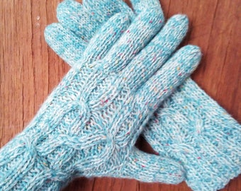 Warm gloves, wool gloves, mitts