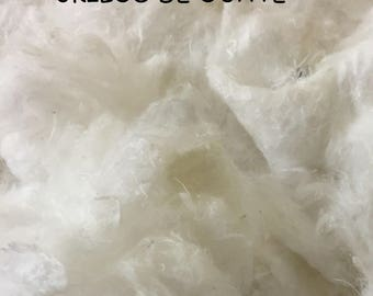 Stuffing material for 3 kilos produces basic and compressed