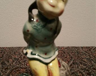 ON SALE Animated Chinese Girl Statue Figurine