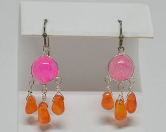 Charming Bright Color Earrings