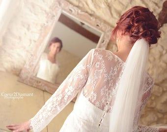 """marianne"" lace wedding dress"