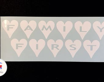 Family First Decal