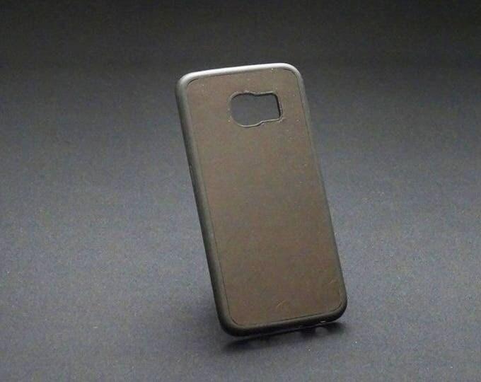 Samsung Galaxy S6 Edge - Jimmy Case in Satin Brown - Kangaroo leather - Handmade - James Watson