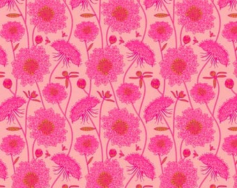 Sweet Dreams- Lacey- Bubblegum- Anna Maria Horner- Free Spirit/Westminster Fabrics