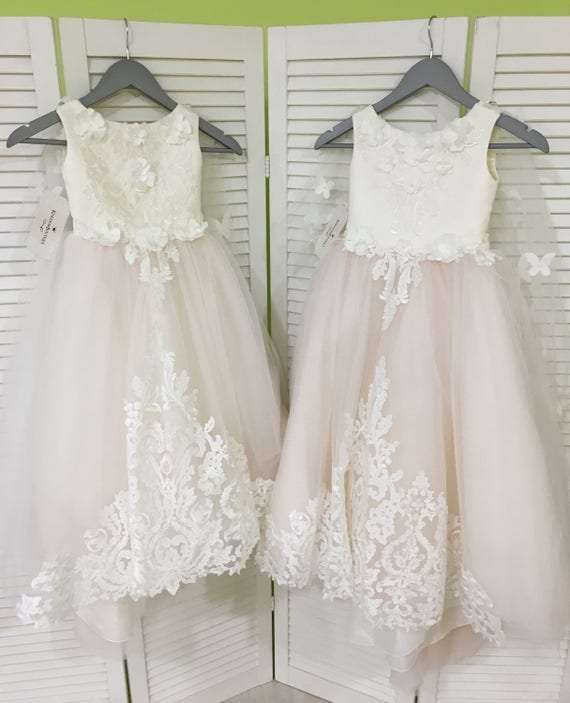 Blush flower girl dresses fashion dresses blush flower girl dresses mightylinksfo