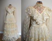 1910 Lace Wedding Dress | Edwardian Vintage Wedding Dress