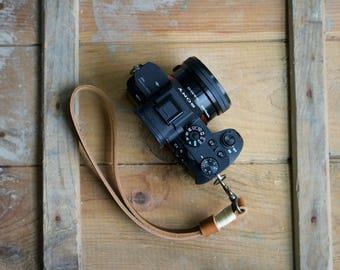 Camera Wrist Strap, Customized Wrist Strap, Leather Camera Strap, Camera Strap, Customized Gift, Handmade