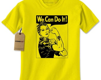 Rosie The Riveter  Mens T-shirt