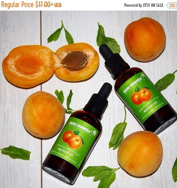 Black Friday Sale Organic Apricot Kernel Oil/ Organic Facial Oil/ Facial hydrating Oil/ Natural Apricot Body Oil/ Eyelashes Oil/ Eyebrow Oil