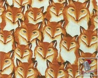 Fox, 100% coton, Windham W Fabrics, Wild Woods, 41124,