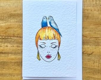 Lady Bird (Budgie)