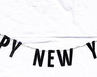Happy New Year Garland | Happy New Year Decor | Happy New Year Banner | New Years Eve Decoration | New Years Ever Decor | New Years Eve
