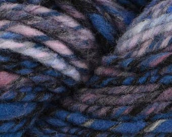 Noro HAKONE 14.99 +1.25ea to Ship - 109yds 100g Chunky Self Striping 100% Wool Yarn - Wonderwall 3 Blue - Free Patterns - MSRP 17.99