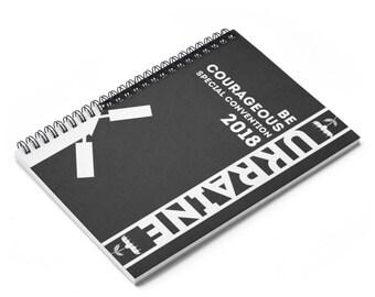 Ukraine Spiral Notebook