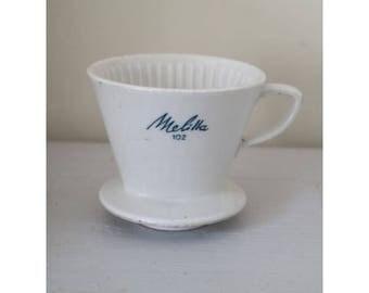 old vintage of Melitta coffee filter 102