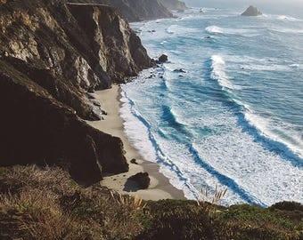 Big Sur Photography, Big Sur Print, Big Sur Art, Ocean Photography, Beach Print, Beach Art, California Coast, Wall Art, Fine Art Photography