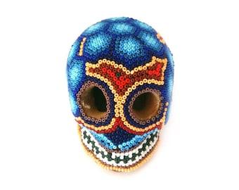 """Decorative """"death's head"""" figurine - art of Halloween - skull - calavera - """"Día de Los Muertos"""" Mexican - """"Día de los"""