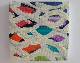 Cute mini abstract painting