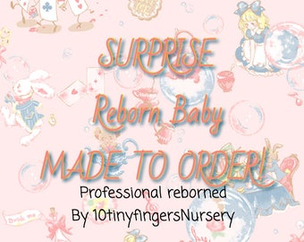 Surprise Reborn Baby! Made to order! You choose kit! *MY WORK SHOWN*