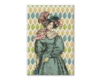 Jane Austen Fridge Magnet, Regency Magnet, Refrigerator Magnet, Fridge Magnet, Kitchen Decor, Locker Magnet