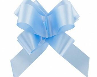 Bow decoration wedding christening X 10 (approx 20 cm)
