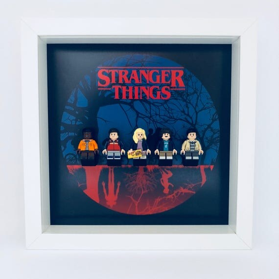 Stranger Things 5PC Minifigure Frame