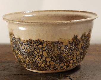 Winter Wood;Handmade Pottery  Serving Bowl