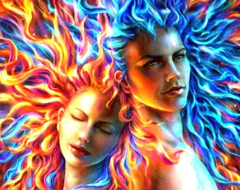 Twin Flame Conversations (Past, Present, Future) 30 min Video Recorded Reading
