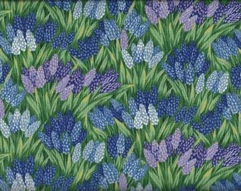 Northcott Quilting Cotton Fabric Flowers 126361 - 1/2 Yard