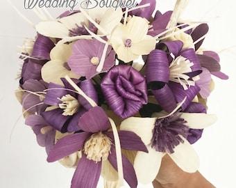Wedding Bouquet made of corn husk