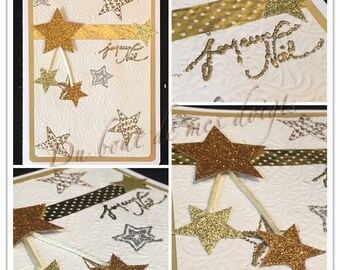 Handmade large greeting card