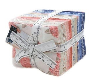 ON SALE BAYBERRY - 30 Piece Fat Quarter Bundle by Kate & Birdie Paper Co for Moda Fabrics 13160Ab