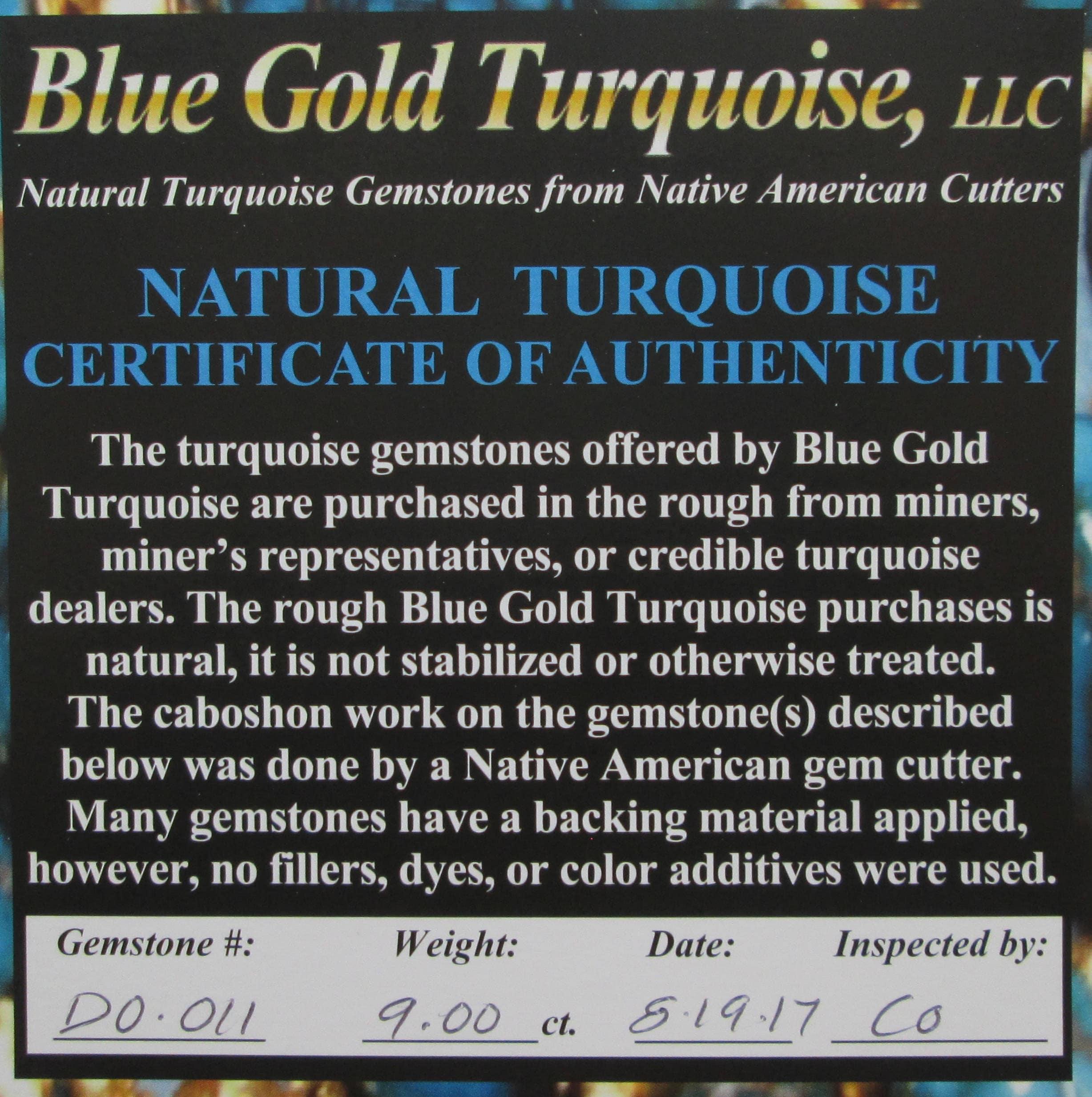 9 00 Ct Natural High Grade Kingman Red Web Turquoise