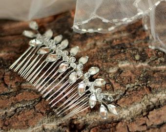 Crystal Hair Comb, Bridal Hair Comb, Wedding Comb, Bridal comb, Wedding Haircomb, Bridal Hair Piece, Bridal Headpiece, Bridal Head Piece