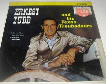 Vinyl Ernest Tubb and his Texas Troubadours VL73684 opened but in original shrink wrap FREE SHIPPING