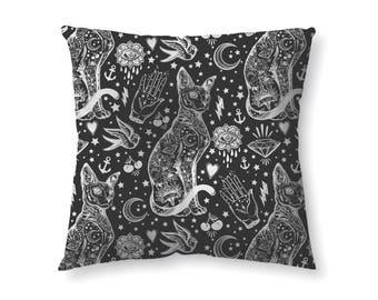 Astrology Cat -  floor pillow