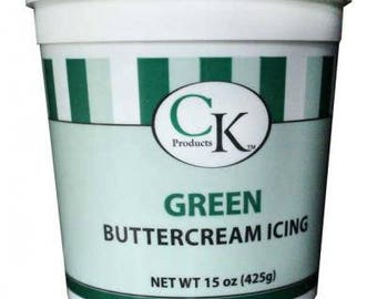 Green Buttercream Icing - CK Products - 15 oz
