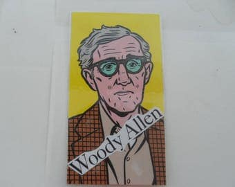 Pretty bookmark WOODY ALLEN