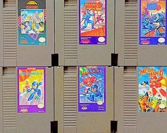 Mega Man NES Collection 1-6 (NES Repro)
