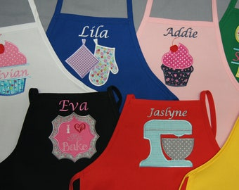 Personalized Children's Apron in two sizes