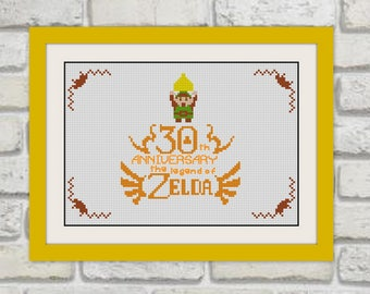 Link 'I'm not Zelda Cross Stitch Pattern, BOGO, Quote cross stitch, PDF counted cross stitch pattern,R220