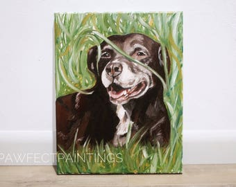 CUSTOM dog painting, custom pet painting, pet painting custom, dog painting, oil painting
