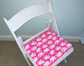 Lilly Pulitzer Tusk in Sun Folding Desk dorm chair