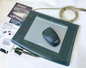 Wacom tablet Intuos special edition Medium Deep Aqua 6x8 GD-0608-U for phtotographers and graphics artist photo editing tool