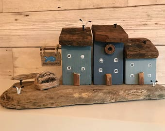 Driftwood art • Home Decor • Seaside theme • Fishmongers • Fisherman
