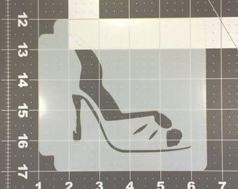 High Heels Stencil 100
