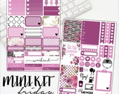 NO COUPONS* Mini Kit Friday Two Page Mini Kit  for use with Erin Condren Lifeplanner™ Weekly Kit Planner Stickers