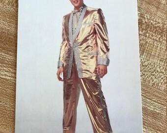 """Vintage Elvis 4"""" X 6"""" Postcard"""