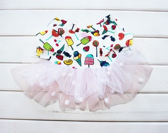 Sweeetest Candy Dress - Cute Dog Dress - Dog Dress - Dog Clothing - Pet Clothes - Available to Any Breed - Yorkshire - Chihuahua - Maltese